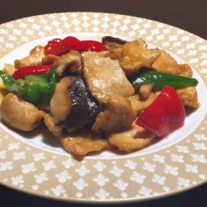 鶏肉のオイスターソース炒めセット