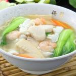 海鮮入り麺(塩味)