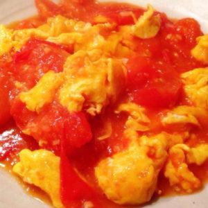 トマトと玉子の炒めセット
